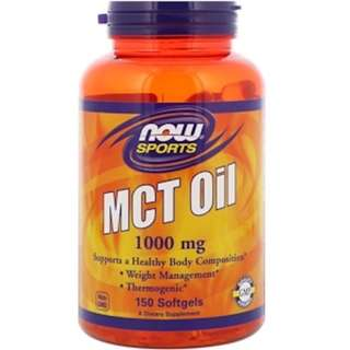 In Stock Now Foods, Sports, MCT Oil, 1,000 mg, 150 Softgels