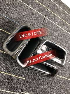 (Ready stock)Mitsubishi EVO 9 CS3 Carbon Door handle