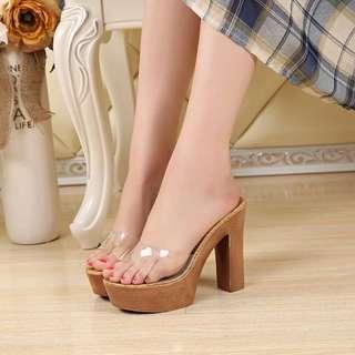 超仙✨透明水晶鞋