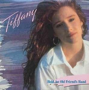 arthlp TIFFANY Hold An Old Friend's Hand USA Press LP Vinyl Record + Inner Picture & Lyrics Sheet (All This Time, Radio Romance etc)