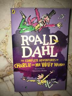 The complete adventures of charlie and mr willie wonka