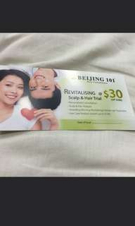 💆♀️GIVE ME HAIR!!! Beijing 101 $396 Revitalising Scalp & Hair Trial + Haircare Products worth $198 @$30!!!
