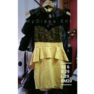 Dress Lace Cotton