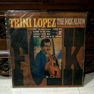 Lp...Vinyl..Trini Lopez - The Folk Album