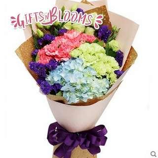 Mother's Day Bouquet Hand Flower Bouquet Anniversary Bouquet Proposal Bouquet Birthday Bouquet Graduation Bouquet V686     87