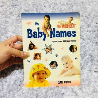 The Handbook of Baby Names by Clare Gibson
