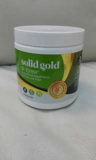 現貨 Solid Gold D-zyme 寵物 消化靈 老犬 幼犬 狗 貓 dog cat digestive enzyme