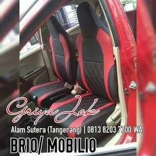 Sarung Jok Mobil Brio Fullset