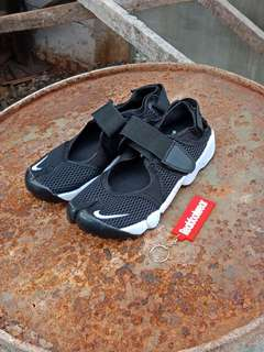 NIKE AIR RIFT BLACK WHITE SANDAL NINJA MIRROR HIGH QUALITY UNISEX