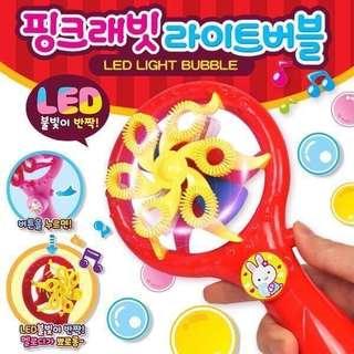 🇰🇷 正韓 🇰🇷 最新的風扇式魔法泡泡機