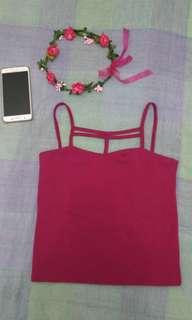Dark Pink top