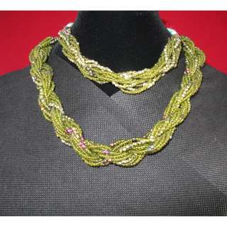 📗Twisted Beads Choker & Bracelet