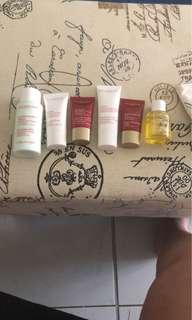 Clarins Paris skin care bundle