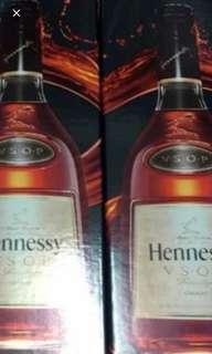 軒尼詩vsop1公升酒盒