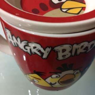Selling Angry Birds Mug with lid