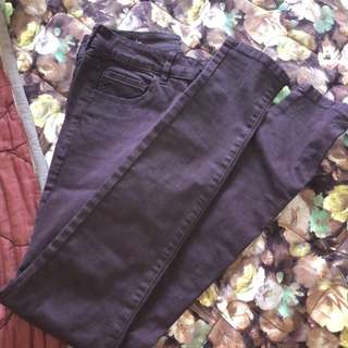 Dark Purple Jeans