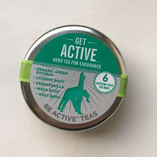 Get Active Herb Tea Travel Canister