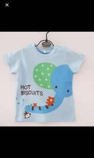 Baby t shirt 6-18mths old size clear stock last piece