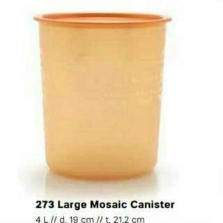 Large mosaicc canister