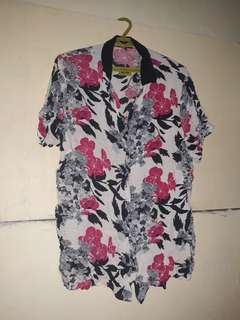 Japanese Floral Polo