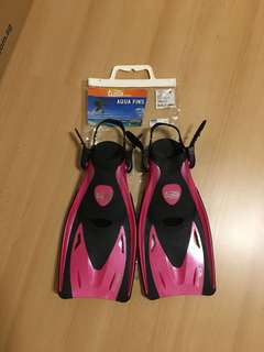 TUSA FINS for snorkeling or swimming