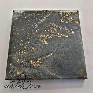 Granite Resin Art V by Kelvin.