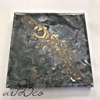 Granite Resin III by K.