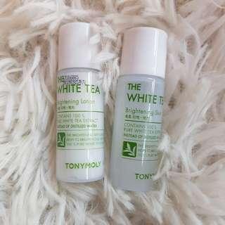 Tony Moly The White Tea Brightening Set
