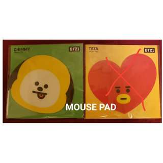 BT21 MOUSE PAD (OFFICIAL)