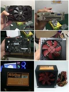 VGA R7 200 Series ( Bonus PSU + Case )