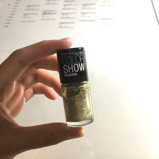 Maybelline Color Show Nail Polish - Gold's Night Out (815)