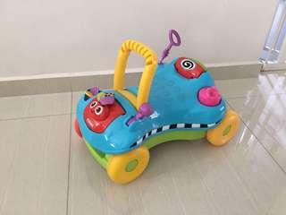Playskool toddler car/ bike