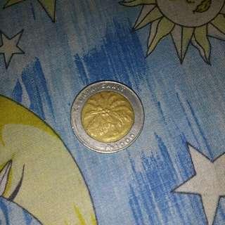 Uang koin 1000 perak tahun 1994