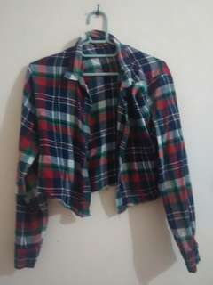 Croptee flanel