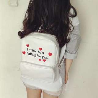 K-Backpack Trendy Hearts