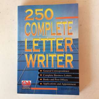 250 Complete Letter Writer