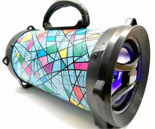 Portable Bluetooth speaker bazooka