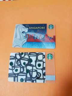 collectible Starbucks store value card