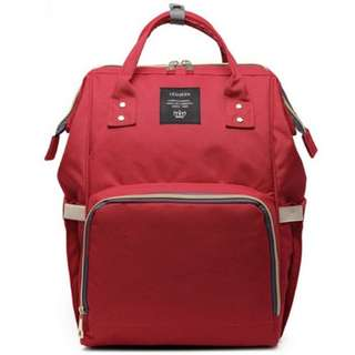 💐 Free delivery! Pre-order: Baby Diaper Bag / Mommy Nursing Bag (Red)