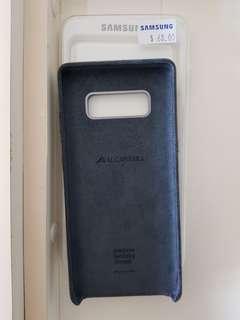 Alcantara Case Samsung Note 8 (Grey)