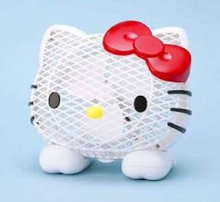 Hellokitty Electric Fan