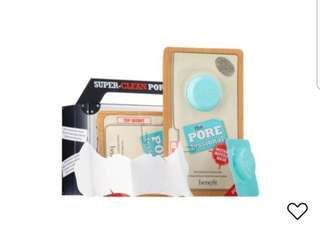 BENEFIT COSMETICS The POREfessional : Instant Wipeout Mask (box)