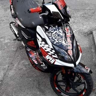 Kymco super 8 125cc 2013 model