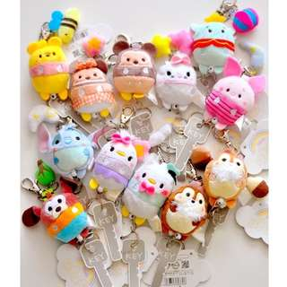 Disney Tsumtsum Ufufy Retractable Lanyard keychain
