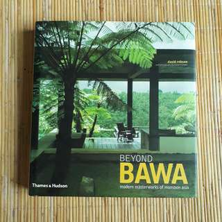 Beyond Bawa - Out of Print Book