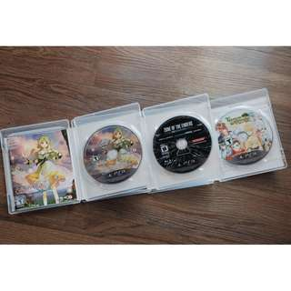 PlayStation 3 PS3 Original Games (2 or 4 Games Per Set)