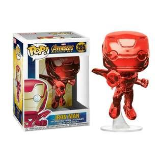 (PO)Funko Pop Red Chrome Iron Man