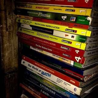 GRADE 1, 2, 5, 7, 8,9, 10 BOOKS