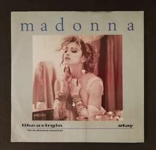 Madonna police sting original LP record