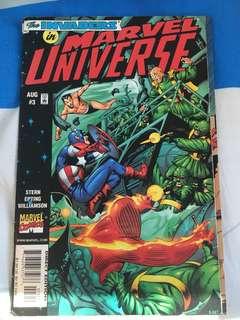 Marvel comics:The invaders